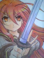 Anime girl by Sakuritha97