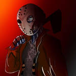 Jason voorhees colored by EmilyBandicoot1234