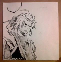 Natsu (Chap 418) by Lyza2000