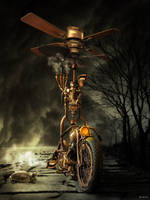 Steam Punk Bike by salis2006