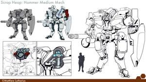 Hammer Mk2 by 1074Arius