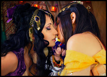 Magi Harem: Kiss for me... Crop by SNTP