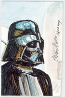 Sketch Card Darth Vader by antonvandort