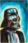 Sketch Card Darth Vader-2 by antonvandort