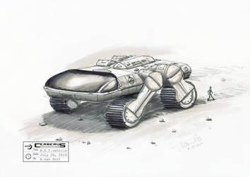 MI: concept B.E.T. vehicle by antonvandort