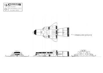 Rocket House - ortho view by antonvandort