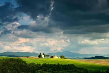 Capella Di Vitaleta,Tuscany. by gsphoto