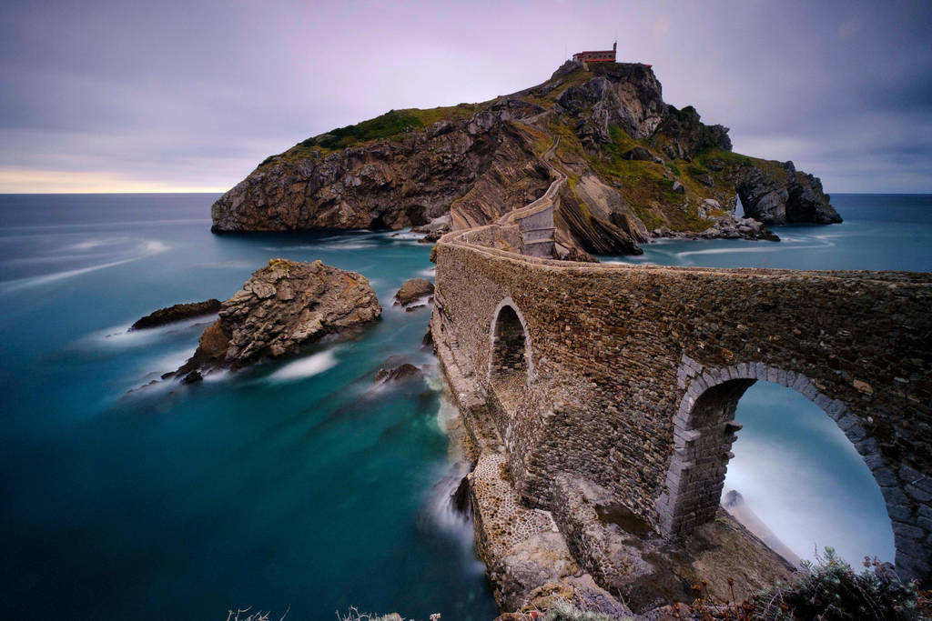 Gaxtelugatze, Basque Country,Spain. by gsphoto