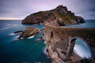 Gaxtelugatze, Basque Country,Spain. by gsphoto