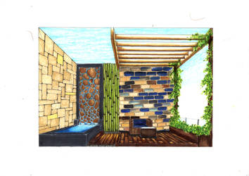 Marker Rendering (Landscape) by ray-agustin