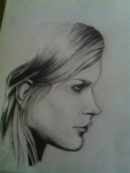 Unfinished Drawing (realism) by ray-agustin