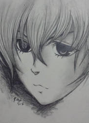 Ciel Phantomhive Sketch by ray-agustin
