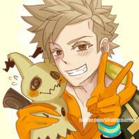 Spark loves all Pokemon by vampirry