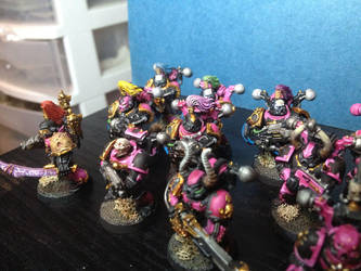 Noise Marines, Close-up by nockergeek