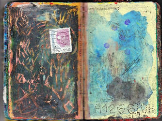 Old Passport in Moleskine. by roundtower