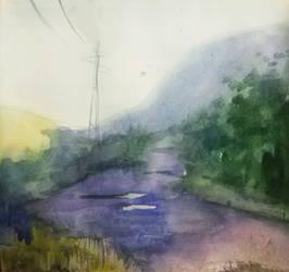A road. by LazyDragonAss