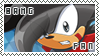 Bang The Hedgehog  - Fan Stamp by SilverAlchemist09