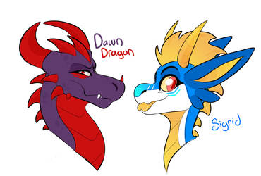 Dragon difference by Lord-Of-Naps