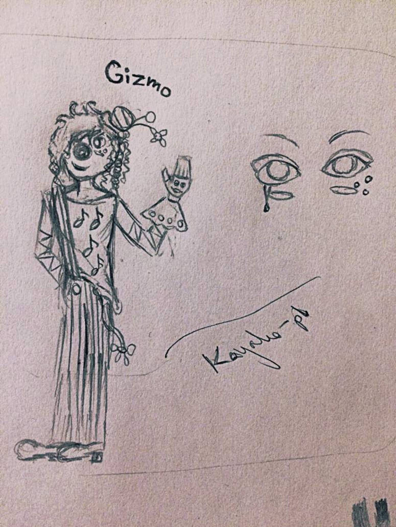 Gizmo the Clown by Kayako-pl