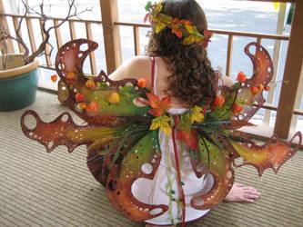 Autumn Faerie Wings by Akirren