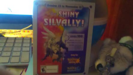 Get a free Shiny silvally card by ksuniverse