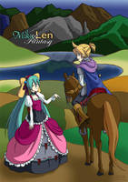 Miku x Len Fantasy 01 by Shenhua