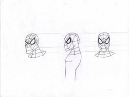 Spider-man Head Desing by stelly777