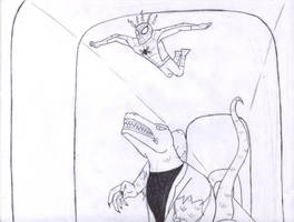 Spidey V.s. The Lizard by stelly777