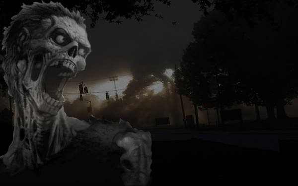 Zombie Wallpaper by DilutedLife