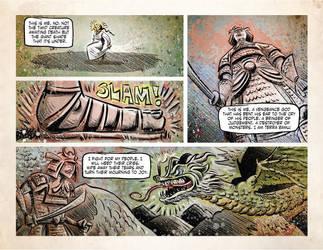 TERRA KAIJU page 1 by sonburnt777