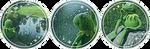 (f2u) Kermit Divider by StarstruckDoodles