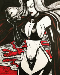 Lady Death by Sands-Studio
