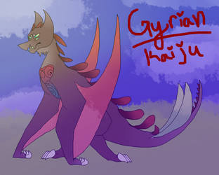 Gyrian Kaiju // Attempted At It // by xXBlitzyTheRottXx