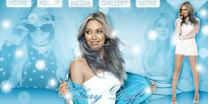 Free Hilary Duff PSD Header by Anuya