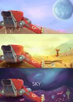 No Man's Sky by ririruby