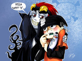 Color: Jack Spicer x Edd by Blookarot