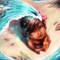 Little Vaiana by Blookarot