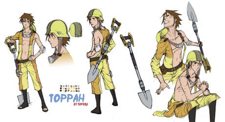 Naruto OC - Toppah by ToPpeRa-TPR