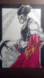 DC Lobo copic colored by skribblboy