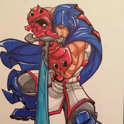 Soul Heir: Captain Haki by skribblboy