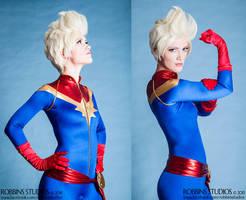 Captain Marvel by RuffleButtCosplay