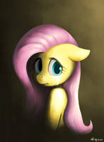Sad Fluttershy by doqwor