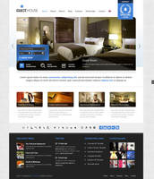 Guesthouse Wordpress Theme - Blue Skin by ait-themes