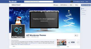 AIT Christmas FB Cover by ait-themes
