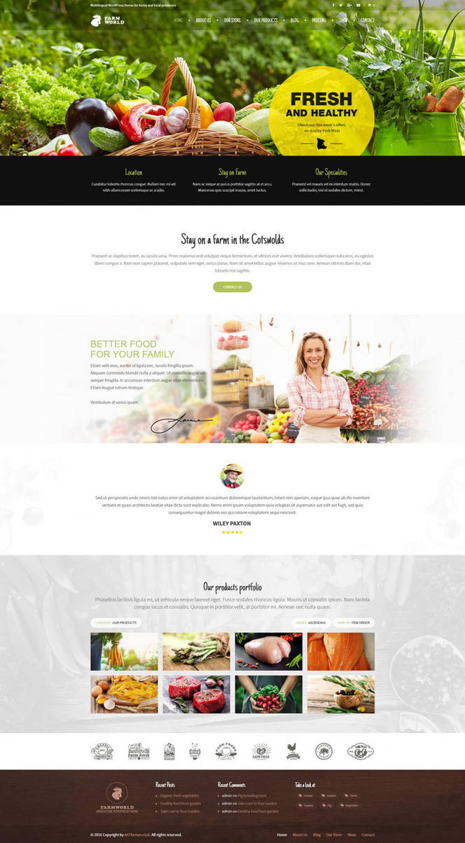 FarmWorld WordPress Theme by ait-themes