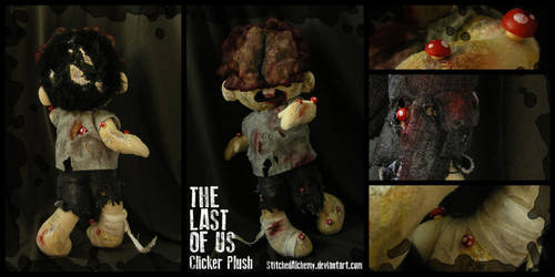 The Last of Us: Clicker Plush by StitchedAlchemy