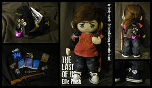 The Last of Us: Ellie Plush [UPDATED] by StitchedAlchemy