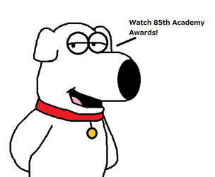 Brian Griffin announces 85th Academy Awards by Mega-Shonen-One-64