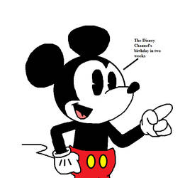 Mickey announces two weeks for Disney Channel by Mega-Shonen-One-64