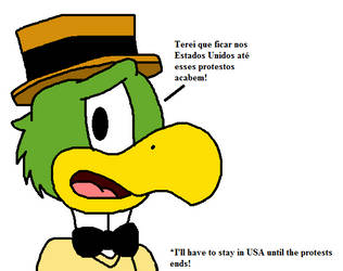 Jose Carioca announces that will stay in USA by Mega-Shonen-One-64